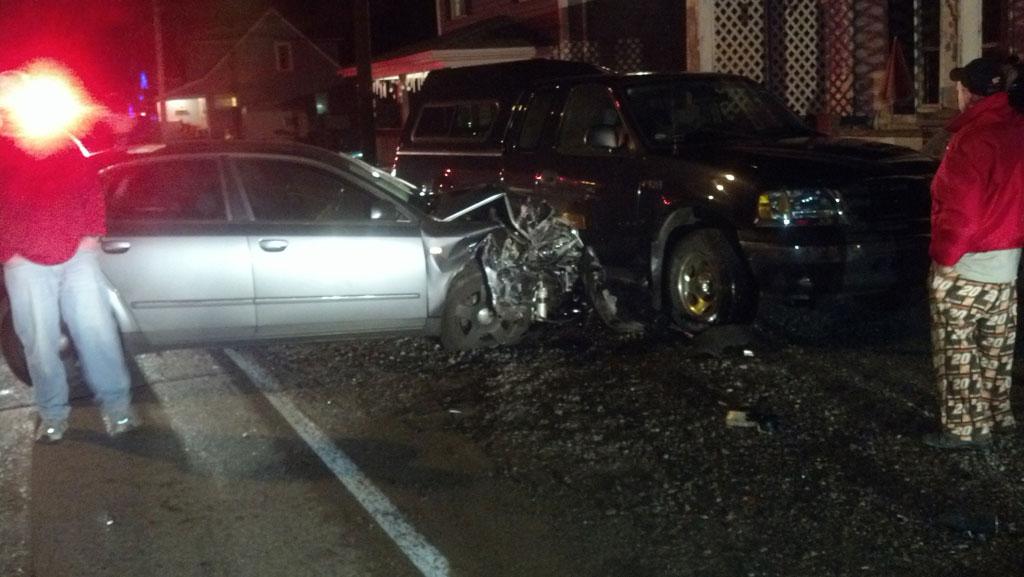 Motor Vehicle Accident On Alden St West Mead 1 Vfc