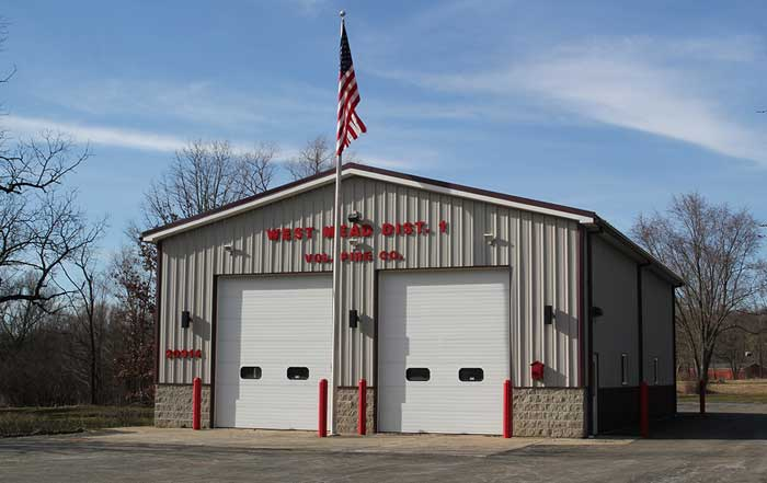 alden st station 2013 - About West Mead #1 Volunteer Fire Company