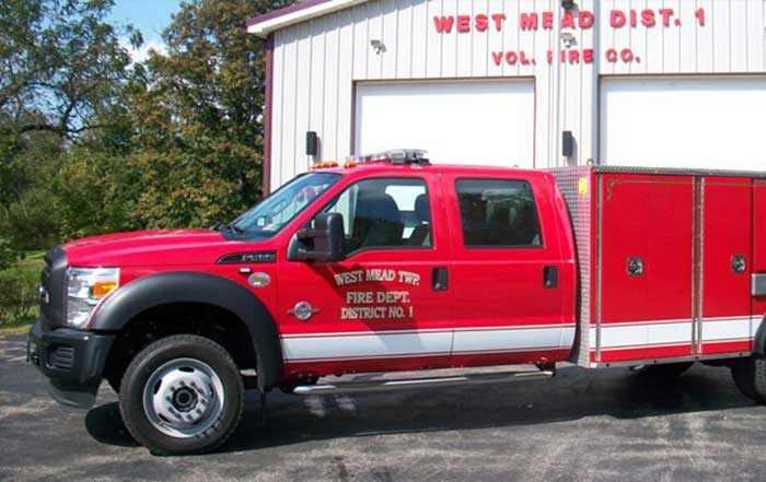 apparatus 28 14 link - About West Mead #1 Volunteer Fire Company