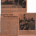 2nd fire levels news clipping 150x150 - Second Fire Levels West Mead Residence