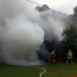 hinkson rd fire 1 150x150 - Hinkson Road Structure Fire, Assist to East Mead