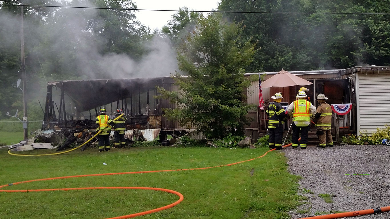 hinkson rd fire 5 - Hinkson Road Structure Fire, Assist to East Mead