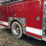 engine 28 12 rear tires showing mud from access road 150x150 - Photo Gallery