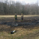 firefighters overhaul pallets burned in brush fire 150x150 - Photo Gallery