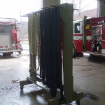 forestry hose and handlines hang on rack to dry 150x150 - Photo Gallery