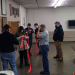 group practicing daisy chain webbing 150x150 - Photo Gallery