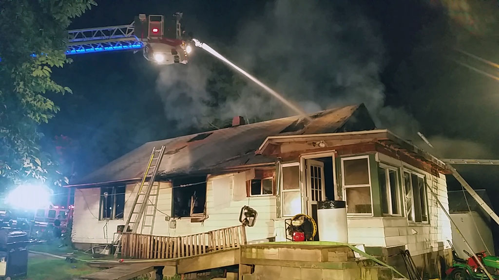 Third Alarm House Fire On Cussewago Road West Mead 1 Vfc