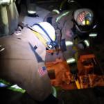 Brad Johnston extends hoseline rescue 150x150 - Double Horse Shoe Rescue Drill