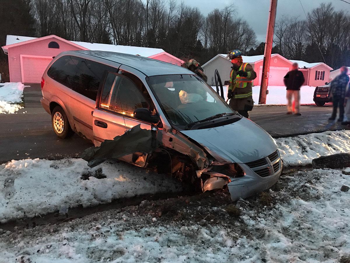 Doug Blair MVAI Morgan St - Morgan Street Vehicle Accident with Injury
