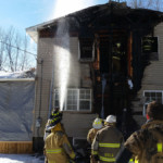 completing overhaul 150x150 - House Fire on Snake Road, Assist to Cochranton