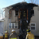 overhaul on structure fire 150x150 - House Fire on Snake Road, Assist to Cochranton