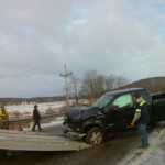 Leonards hauling pickup 150x150 - Cochranton Road Accident with Injury and Entrapment