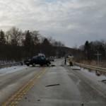 scene multiple vehicle mva 150x150 - Cochranton Road Accident with Injury and Entrapment