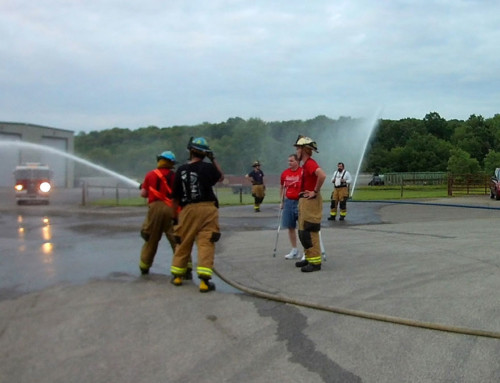 Sustained Water Flow Drill