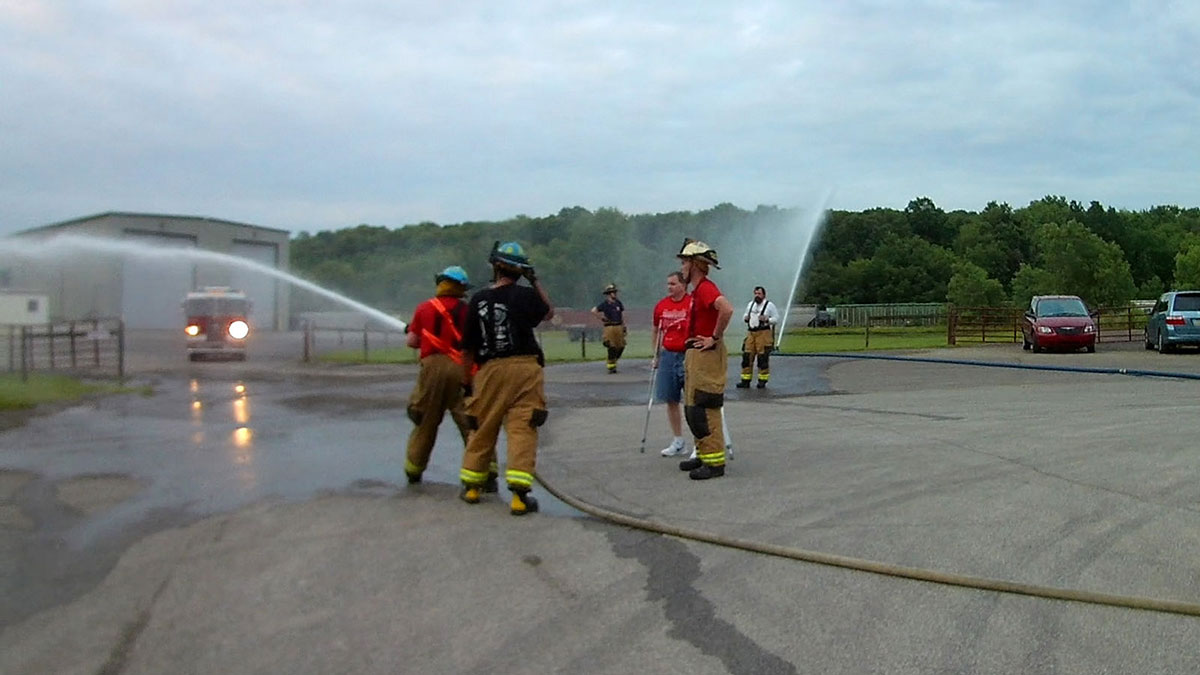 handline blitzfire operation - Sustained Water Flow Drill