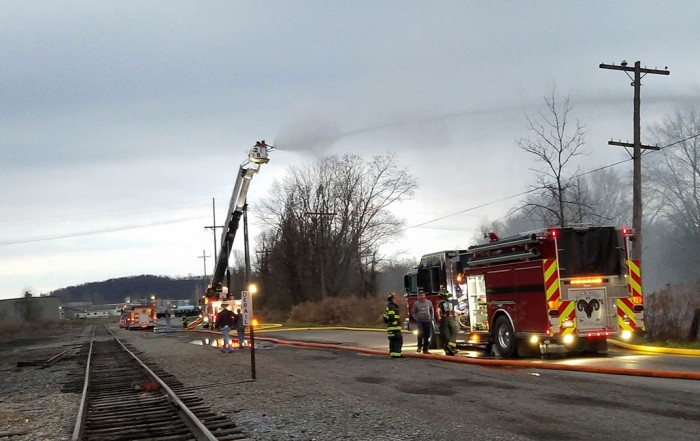 West Mead 2's 29-9 and 29-1 drill together along French Creek