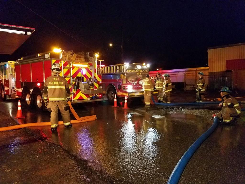 refilling tenders 05 1024x768 - South Main Street Fire in Cambridge Springs