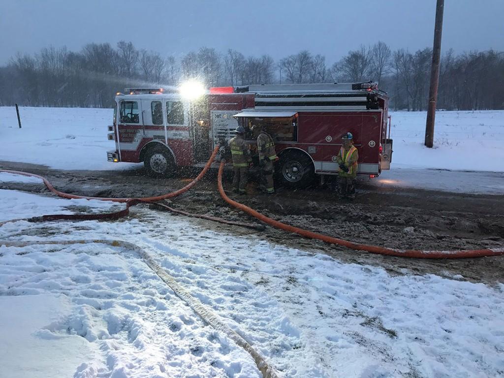 28 11 operating shop fire 1024x768 - Shop Fire, Assist to Cochranton