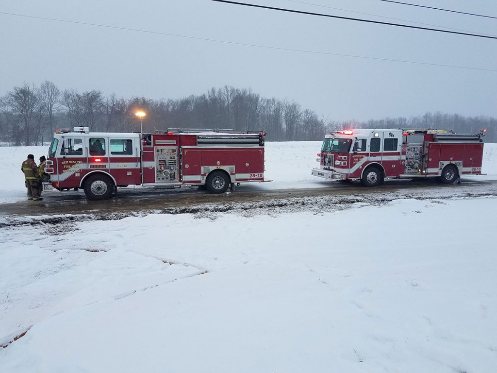 engines 12 and 13 1024x768 - Shop Fire, Assist to Cochranton