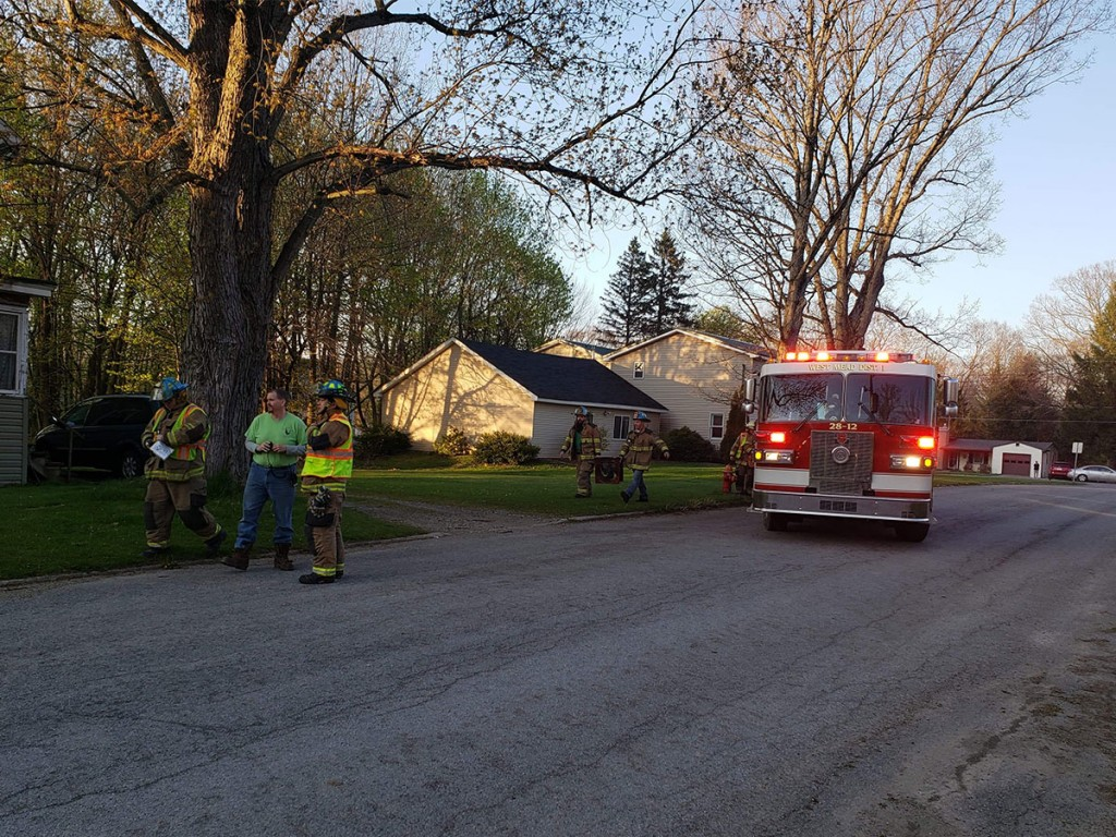 28 12 gas leak Second St 1024x768 - Reported Fire, Tree Down, and Gas Leak