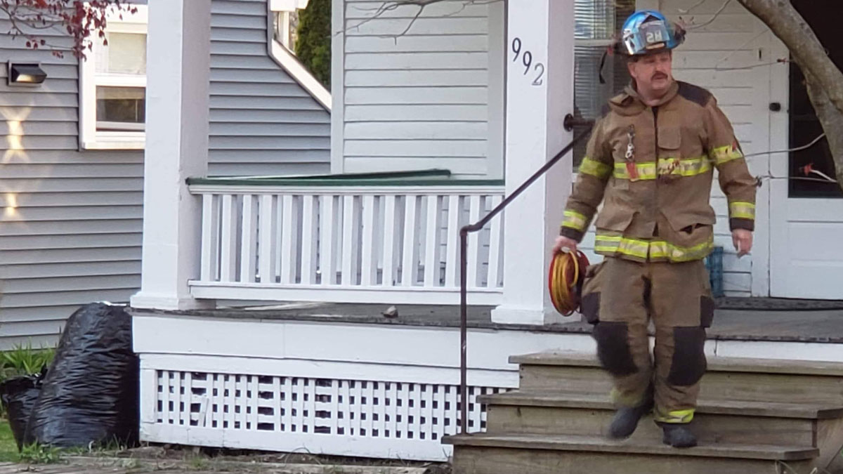 Doug Blair equipment gas leak - Reported Fire, Tree Down, and Gas Leak
