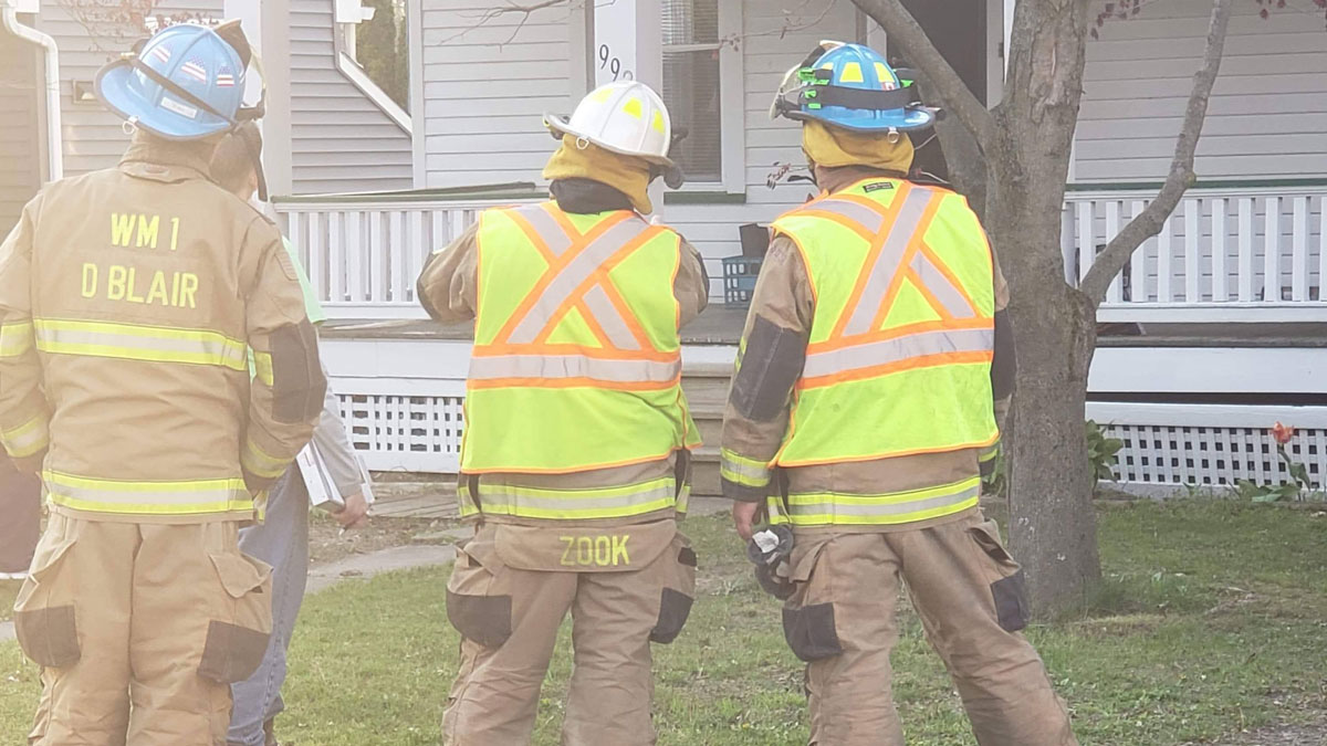 practicing sizeup gas leak - Reported Fire, Tree Down, and Gas Leak