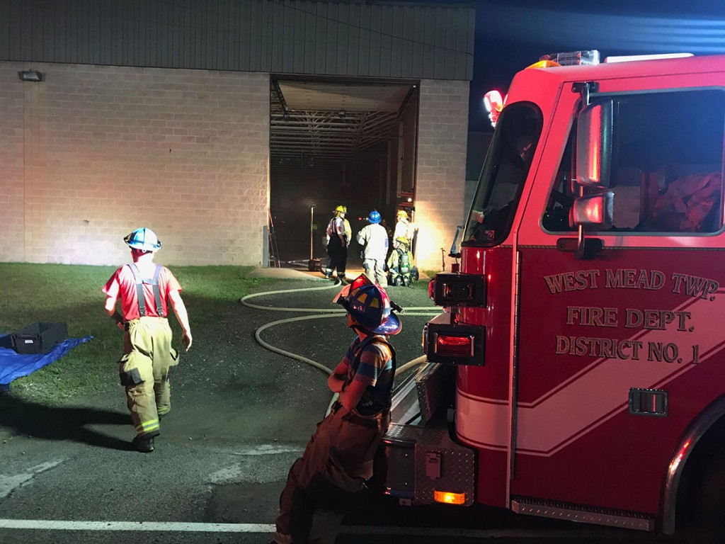crews check extension laundromat 1024x768 - Commercial Fire on Bessemer St