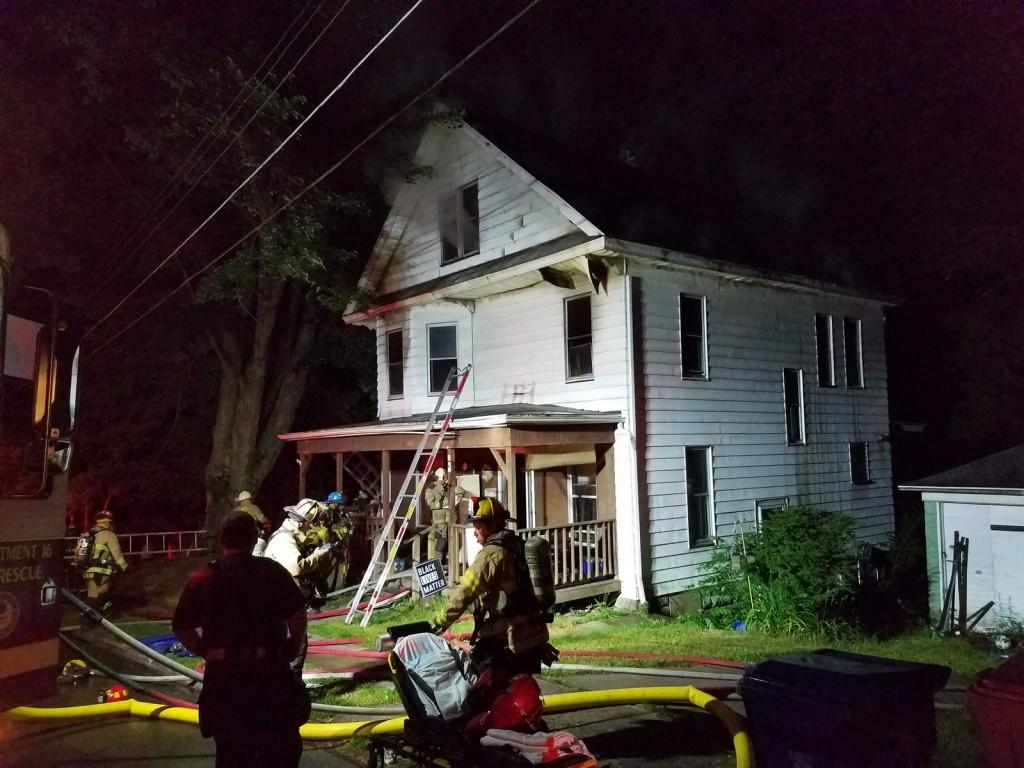 fairmont ave fire 339 1024x768 - Fairmont Ave Fire, Assist to Meadville Central