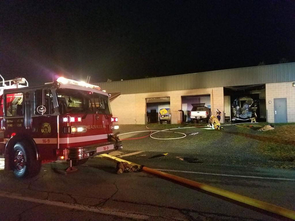 overhaul ventilation laundromat 1024x768 - Commercial Fire on Bessemer St